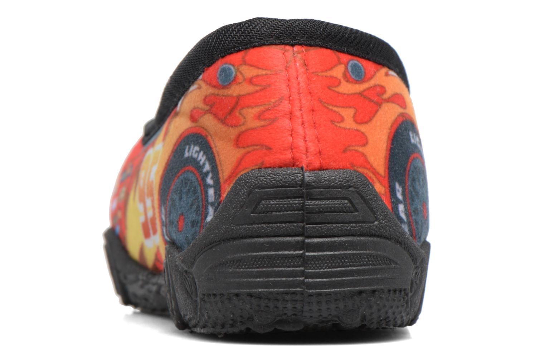 Pantoffels Cars Suzario Rood rechts