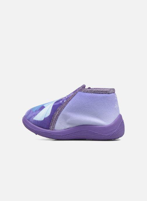 Slippers Frozen Scordia Purple front view