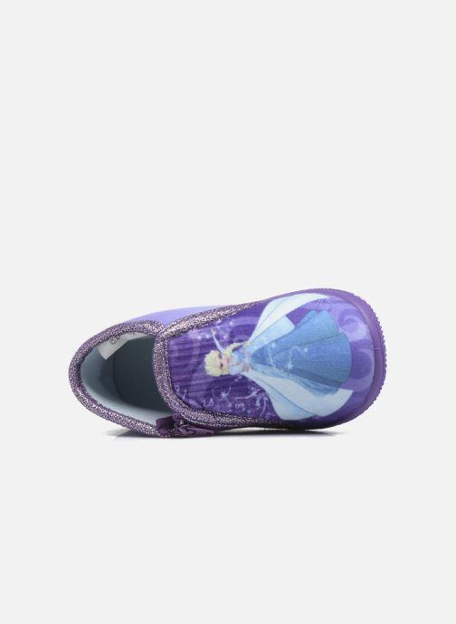 Chaussons Frozen Scordia Violet vue gauche