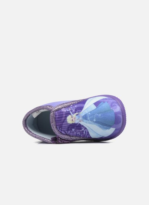 Pantofole Frozen Scordia Viola immagine sinistra