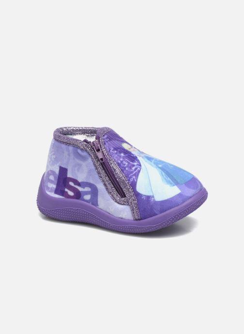 Slippers Frozen Scordia Purple detailed view/ Pair view