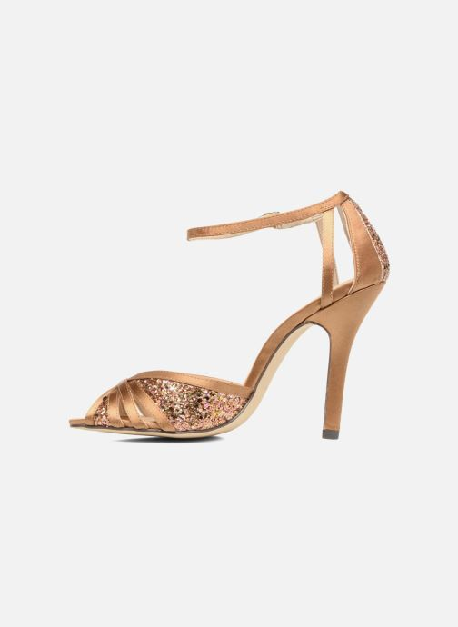 High heels Menbur Purcell Brown front view