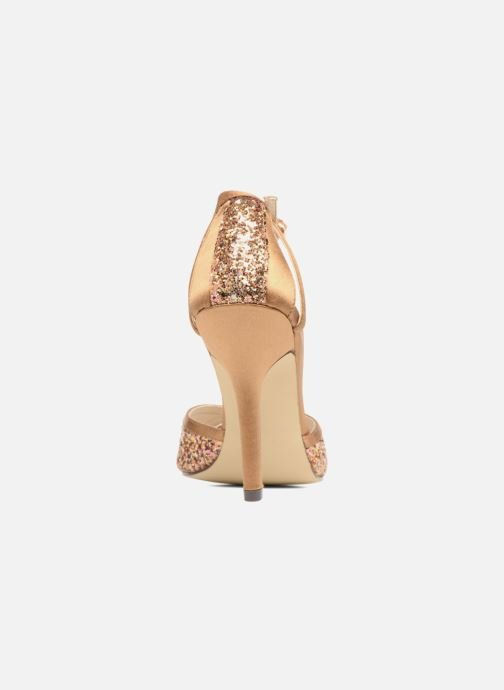 High heels Menbur Purcell Brown view from the right