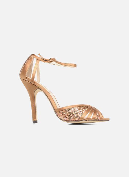 High heels Menbur Purcell Brown back view