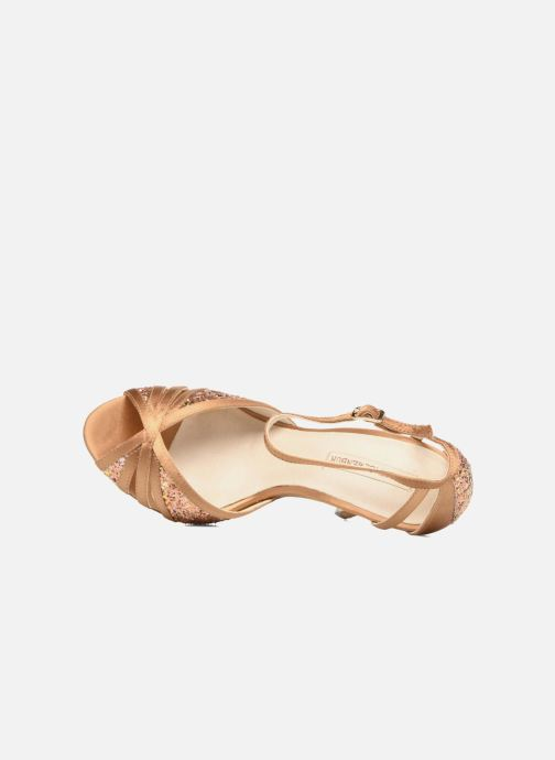High heels Menbur Purcell Brown view from the left