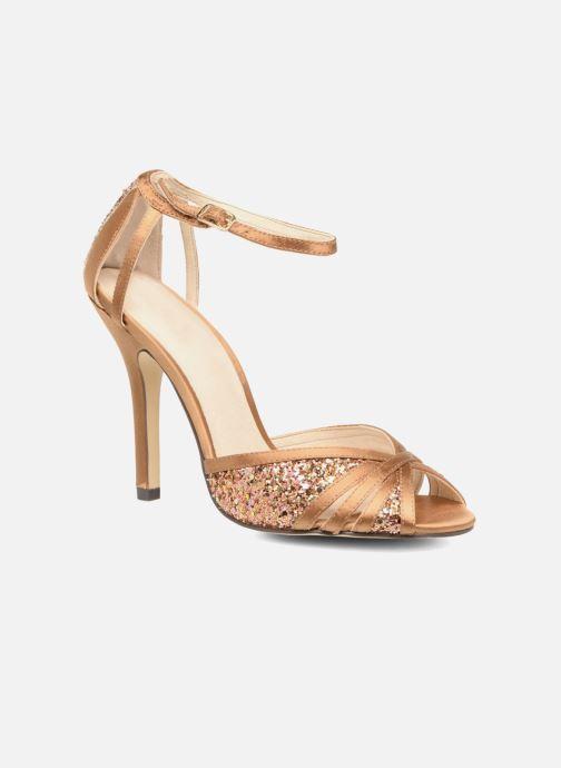 High heels Menbur Purcell Brown detailed view/ Pair view