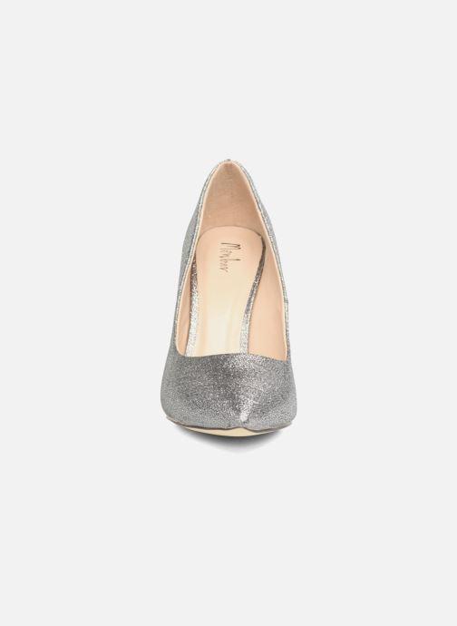 Zapatos de tacón Menbur Servier Plateado vista del modelo