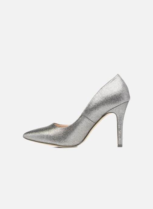 High heels Menbur Servier Silver front view