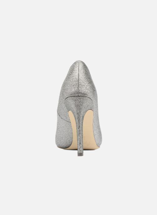 Zapatos de tacón Menbur Servier Plateado vista lateral derecha