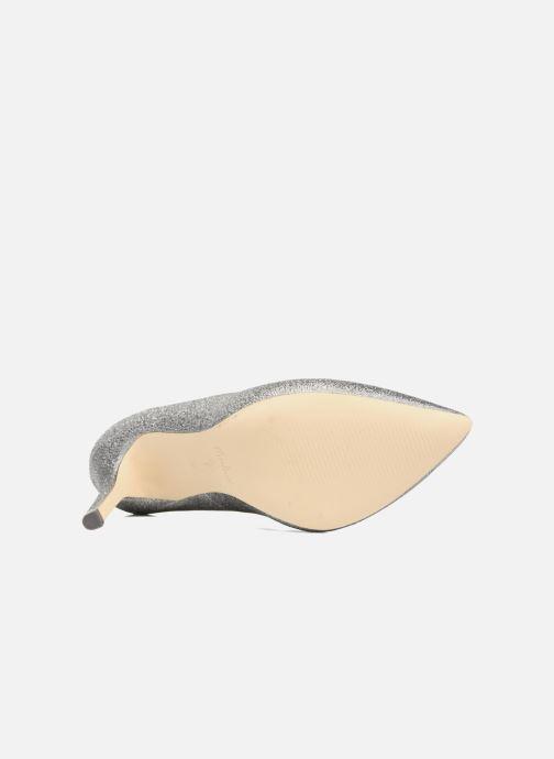 Zapatos de tacón Menbur Servier Plateado vista de arriba