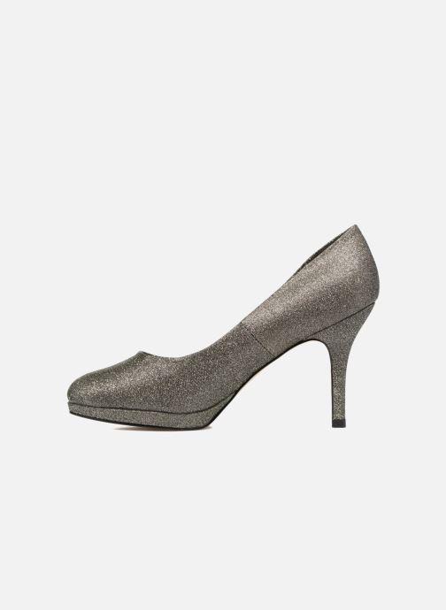 High heels Menbur Yedra Grey front view
