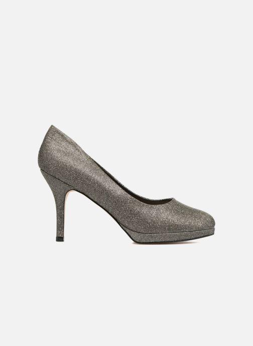 Zapatos de tacón Menbur Yedra Gris vistra trasera
