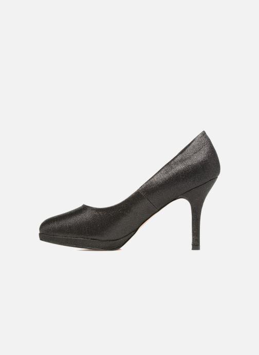 Zapatos de tacón Menbur Yedra Negro vista de frente