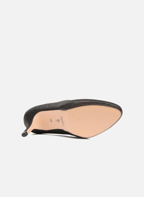 Zapatos de tacón Menbur Yedra Negro vista de arriba