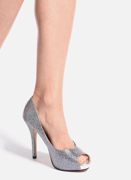 Zapatos de tacón Menbur Tietar Plateado vista de abajo