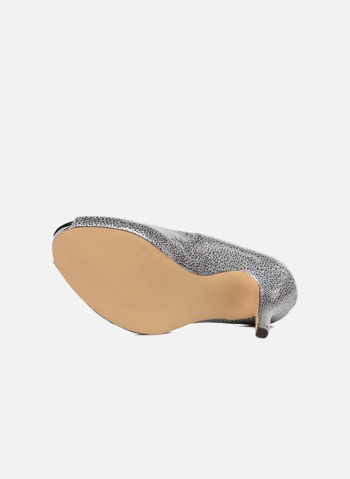 Zapatos de tacón Menbur Tietar Plateado vista de arriba