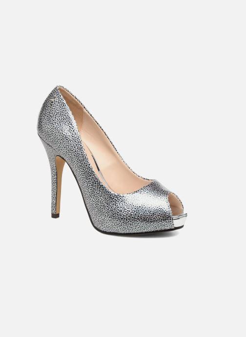 Zapatos de tacón Menbur Tietar Plateado vista de detalle / par