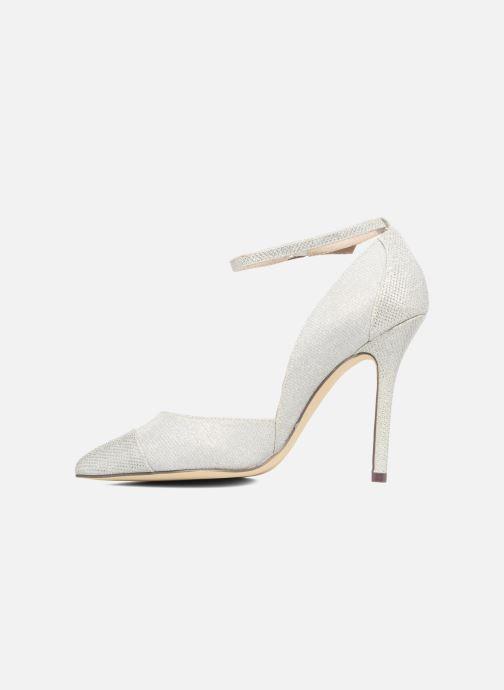 High heels Menbur Motown Silver front view