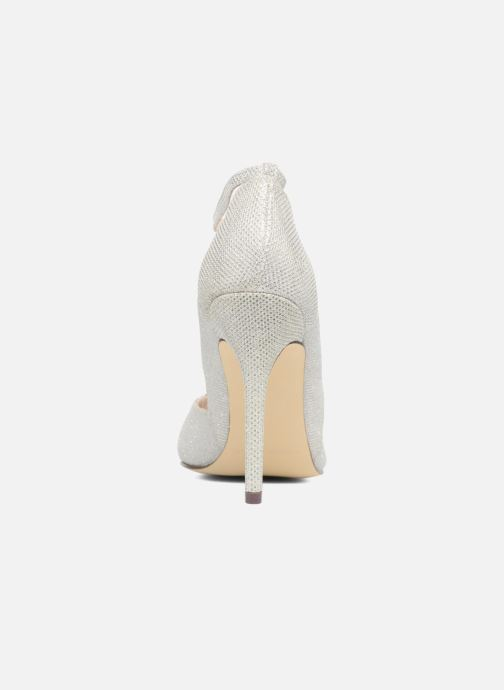 High heels Menbur Motown Silver view from the right