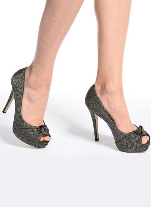 Zapatos de tacón Menbur Yantra Negro vista de abajo