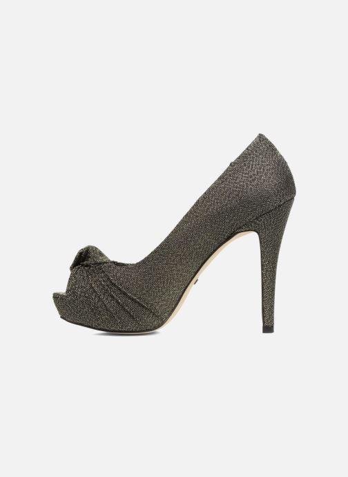Zapatos de tacón Menbur Yantra Negro vista de frente
