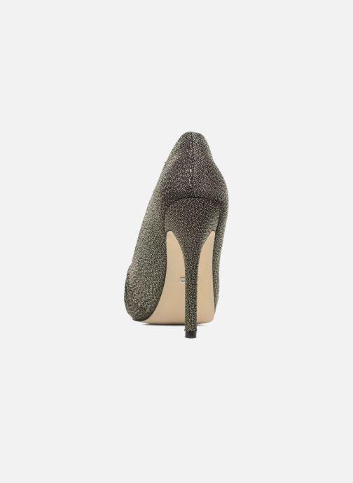 Zapatos de tacón Menbur Yantra Negro vista lateral derecha