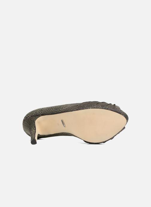 Zapatos de tacón Menbur Yantra Negro vista de arriba