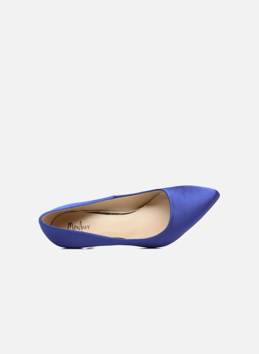 Pumps Menbur Domingo Blauw links