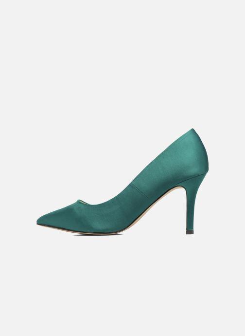 Zapatos de tacón Menbur Domingo Verde vista de frente