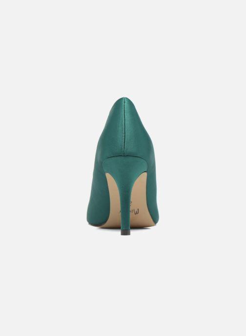 Zapatos de tacón Menbur Domingo Verde vista lateral derecha