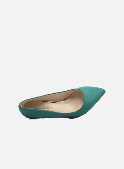 Zapatos de tacón Menbur Domingo Verde vista lateral izquierda