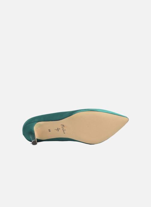 Zapatos de tacón Menbur Domingo Verde vista de arriba