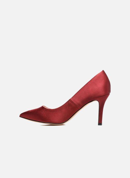 Zapatos de tacón Menbur Domingo Vino vista de frente
