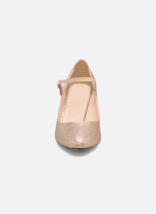Escarpins Menbur Sil Or et bronze vue portées chaussures