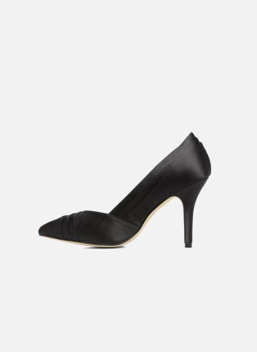 Zapatos de tacón Menbur Cortecillas Negro vista de frente