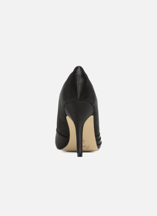 Zapatos de tacón Menbur Cortecillas Negro vista lateral derecha