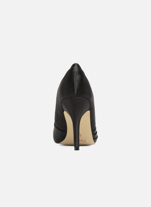High heels Menbur Cortecillas Black view from the right