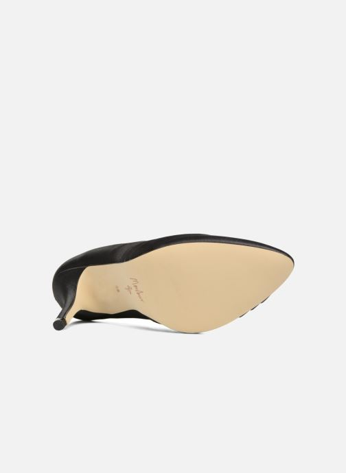 Zapatos de tacón Menbur Cortecillas Negro vista de arriba