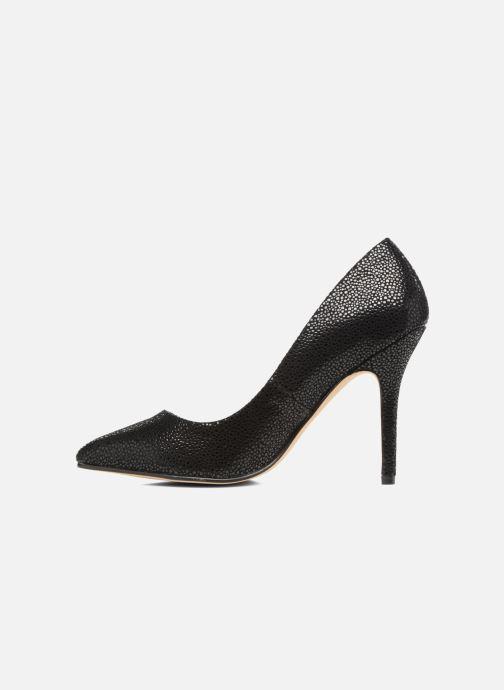 High heels Menbur Albergue Black front view
