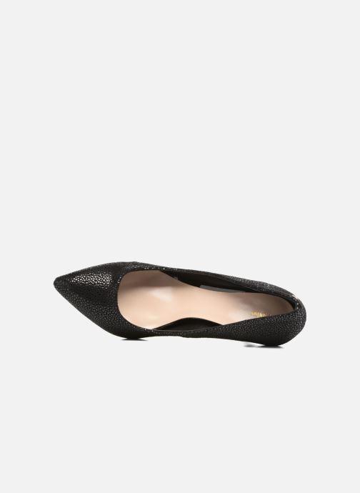 High heels Menbur Albergue Black view from the left