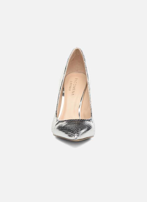 Escarpins Menbur Tudia Argent vue portées chaussures