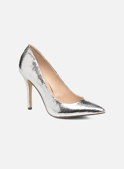 Høje hæle Menbur Tudia Sølv detaljeret billede af skoene