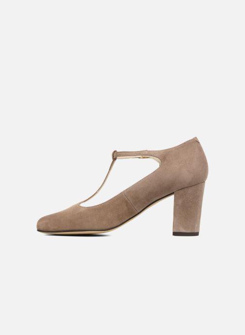 High heels Menbur Buren Beige front view