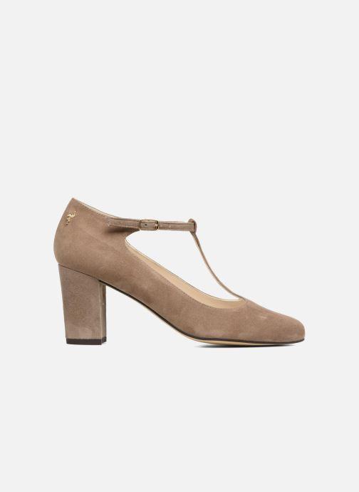 High heels Menbur Buren Beige back view