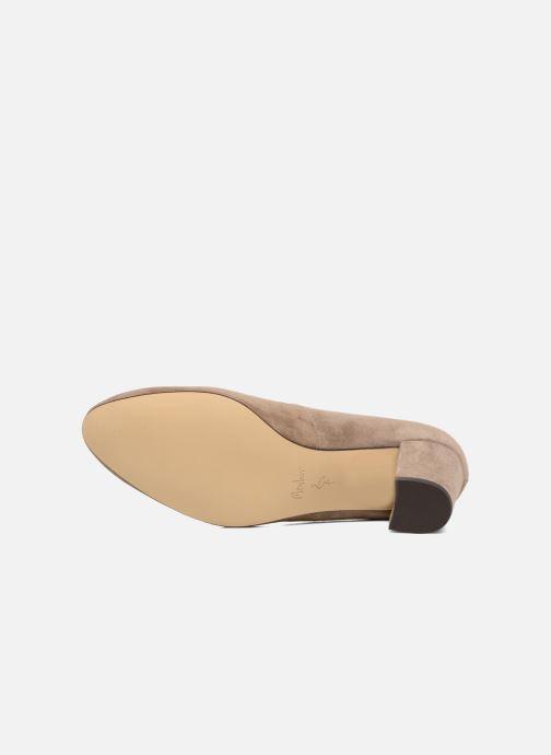 High heels Menbur Buren Beige view from above