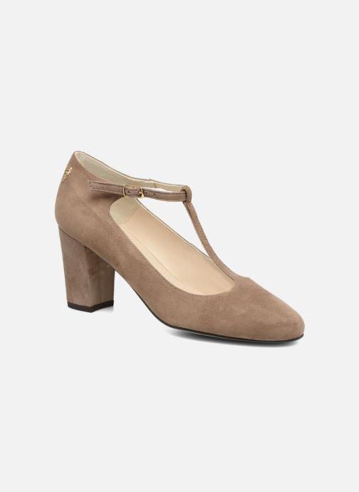 High heels Menbur Buren Beige detailed view/ Pair view