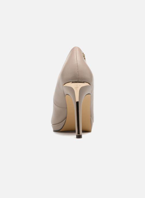 Zapatos de tacón Menbur Gela Gris vista lateral derecha