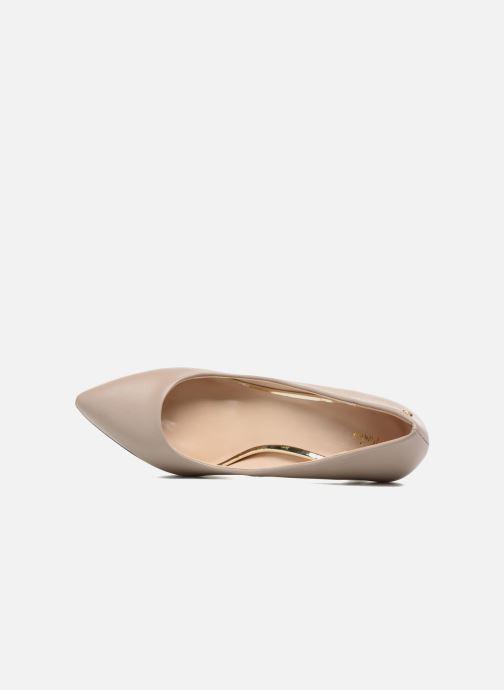 Zapatos de tacón Menbur Gela Gris vista lateral izquierda