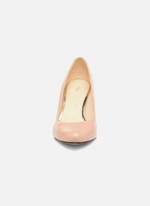 Zapatos de tacón Menbur Salso Rosa vista del modelo