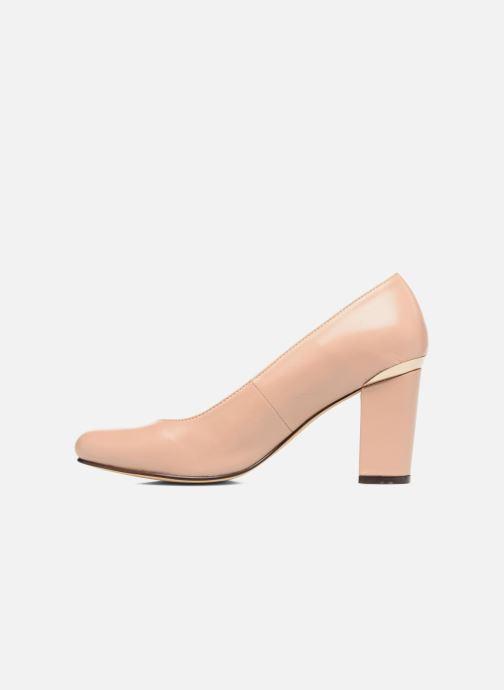 Zapatos de tacón Menbur Salso Rosa vista de frente